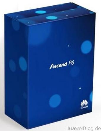 Ascend P6 new Box