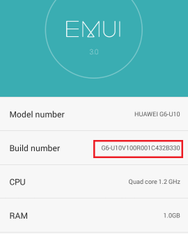 Firmware B330 - Ascend G6 - Emui 3.0 - Android 4.4.2