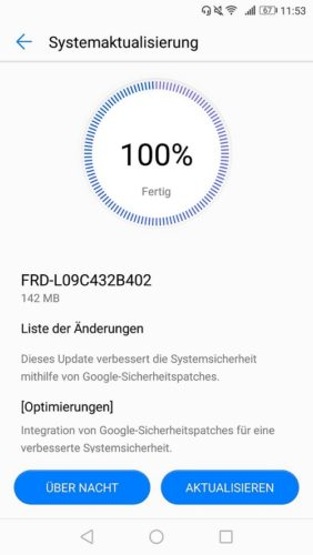 honor 8 Firmware Update