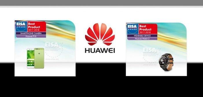 Huawei sahnt doppelt beim EISA Award ab