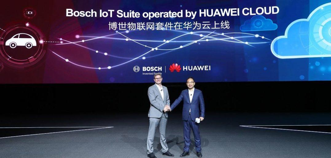Bosch IoT Suite Kooperation Huawei CloudTitelbild