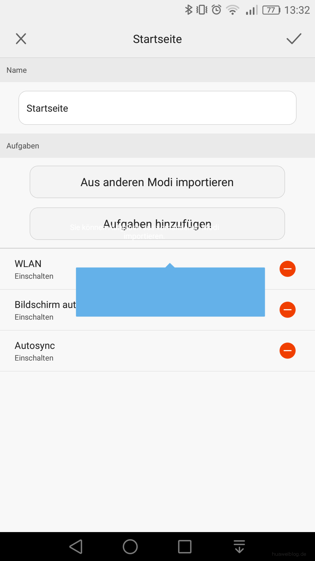 Huawei Mate S Bugbericht - Bug_Magic-Tag