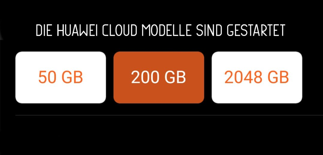 HiCloud von Huawei