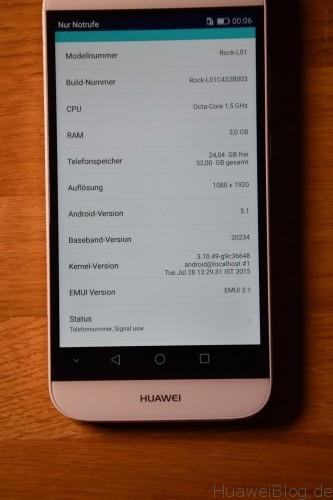 Huawei G8 Daten