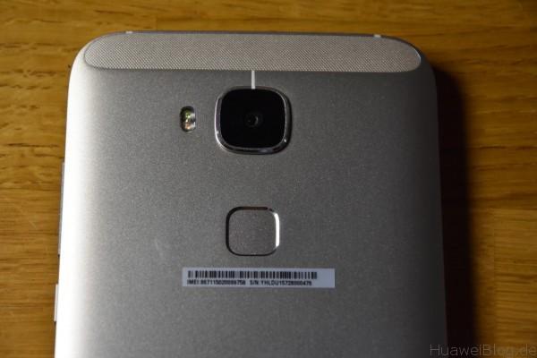Huawei G8 Kamera Fingerabdrucksensor