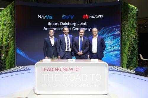 DU - IT und Huawei unterzeichnen das MoU