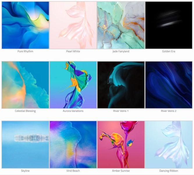 Hintergrunde und themes