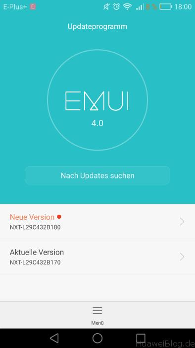 Mate 8 Firmware B180 EMUI 4.0