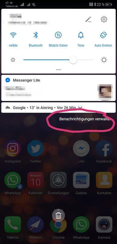EMUI9_Android9_Test_Eindrücke_Benachrichtigungen_verwalten