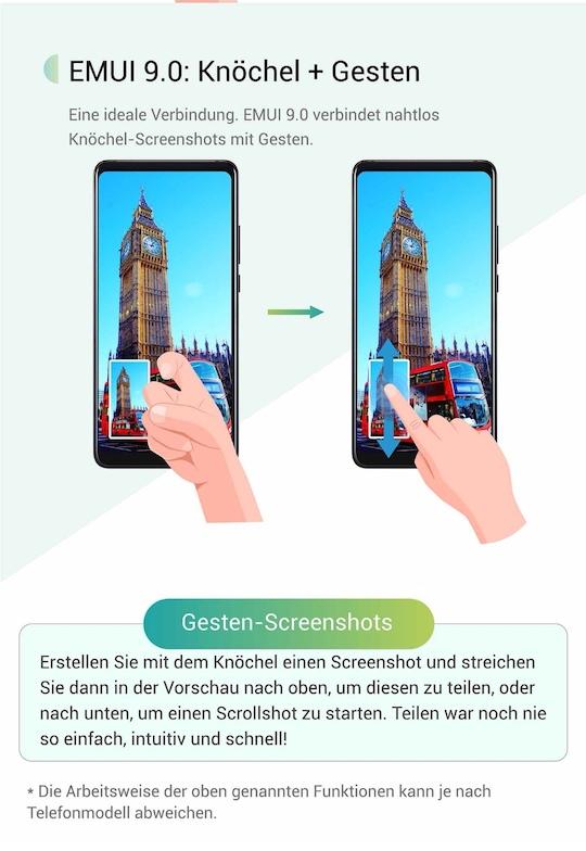 EMUI9_Android9_Test_Eindrücke_screenshot_knuckle_Sense