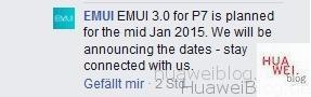 EMUI 3.0 Update