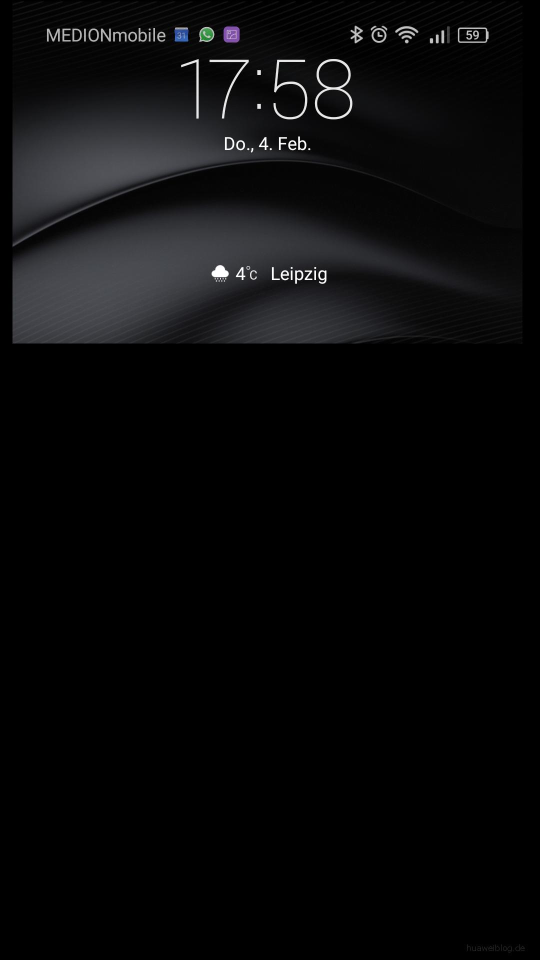 Huawei Mate S Bugbericht - Feature_Benachrichtigungsleiste