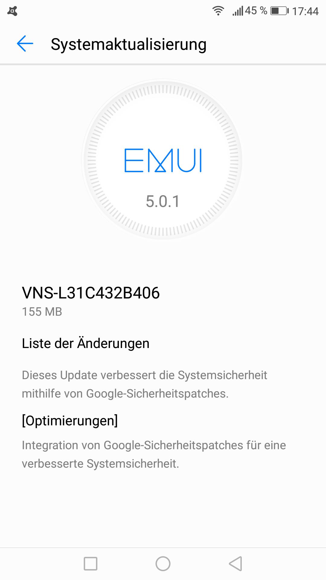 Firmware_Update_Huawei_P9_lite_B406