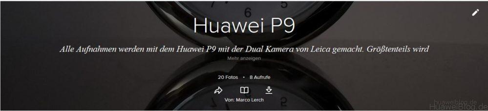 Flickr Huawei P9 Fotos