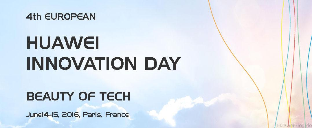 Huawei Innovation Day Info