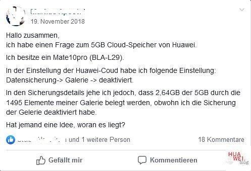 HUAWEI Cloud Sync Backup
