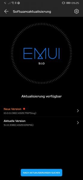 HUAWEI Mate 20 Pro Android 10 Beta EMUI 10