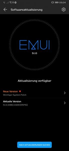 HUAWEI Mate 20 Pro Android 10 Beta EMUI 10 Systempatch