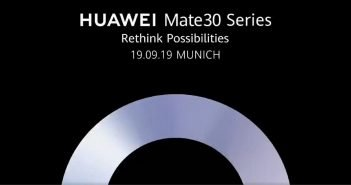 HUAWEI Mate 30 Launch Header