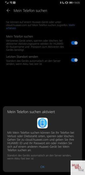 Mate 30 Pro Firmwareupdate EMUI 10.1 Telefon suchen