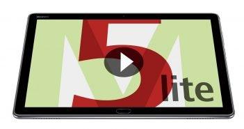 HUAWEI MediaPad M5 Lite Header