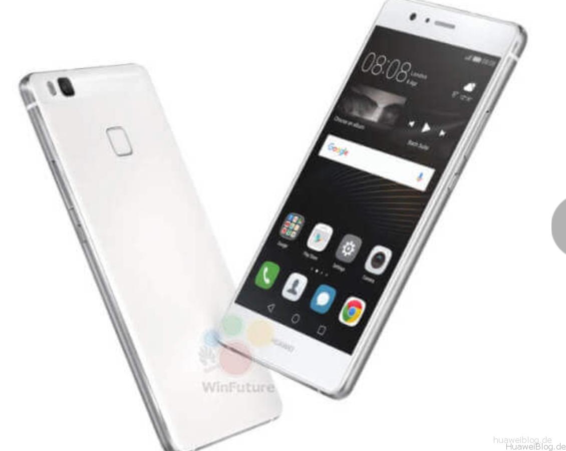 Huawei, P9 Lite, silber, Front, Rückseite