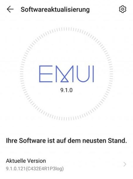 HUAWEI P20 Lite Android 9 EMUI 9.1 Beta Firmware