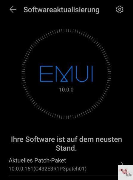 P20 Pro Emui 10 Update