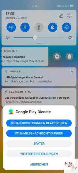 HUAWEI P40 Pro Google installieren_Play Protect deaktivieren