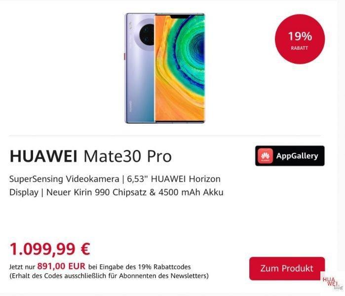 HUAWEI Shop Mate 30 Pro