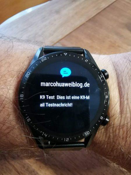 HUAWEI Watch GT 2 Test Benachrichtigungen
