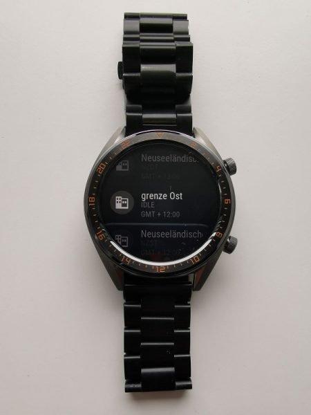HUAWEI Watch GT Update Zeitzone