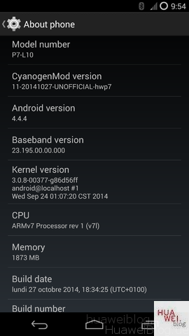 cyanogenmod11 f r das ascend p7 working in progress. Black Bedroom Furniture Sets. Home Design Ideas