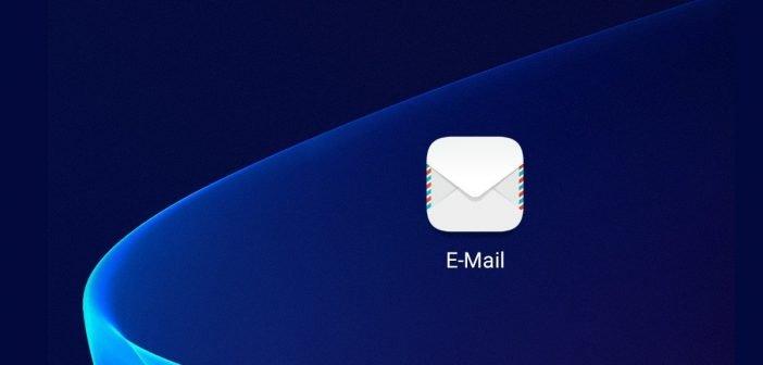 HUAWEI Email App mit 1und1 Account einrichten - Anleitung