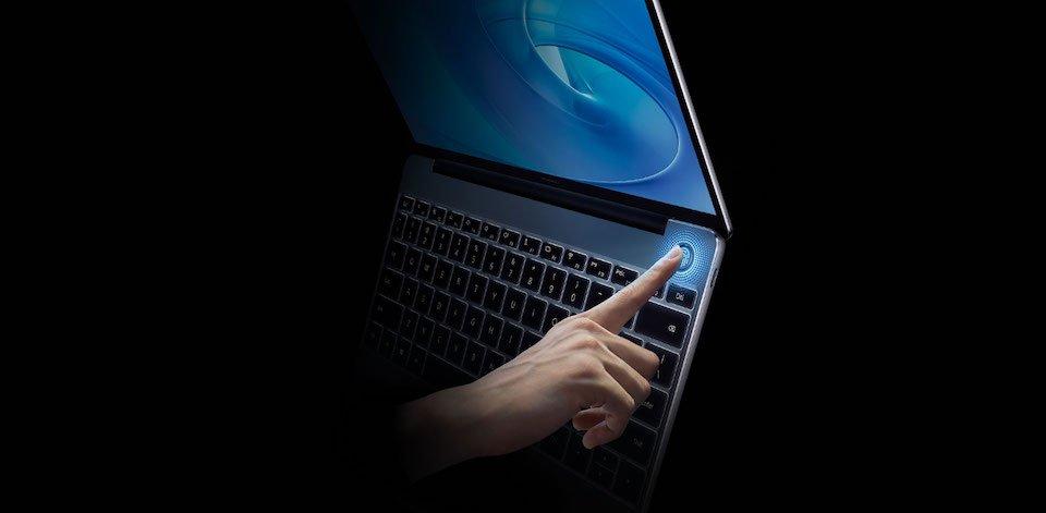 HUAWEI_Matebook13_fingerprint