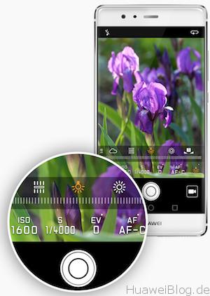 Huawei P9 Kamera App