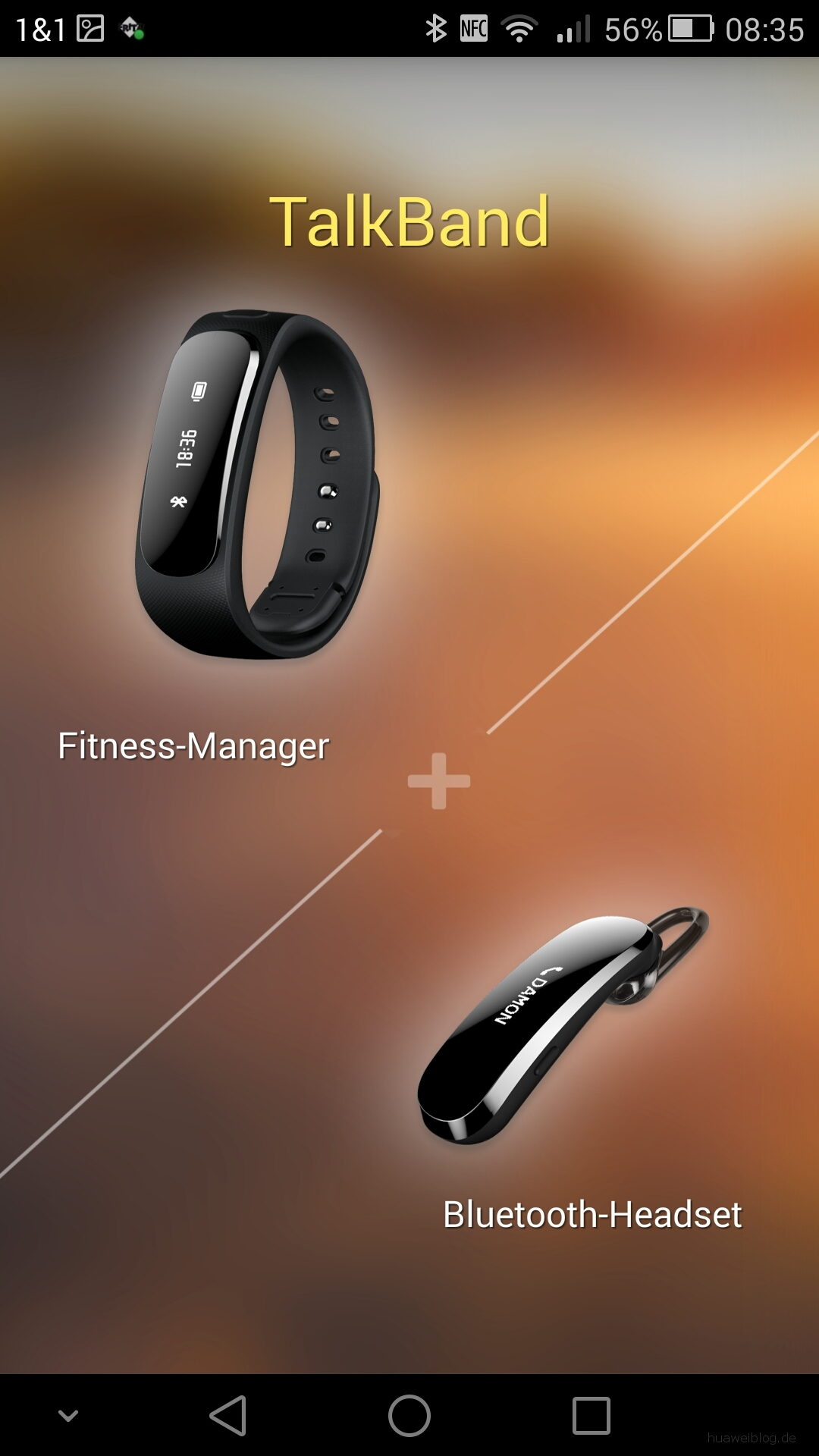 Test: Huawei Talkband B1