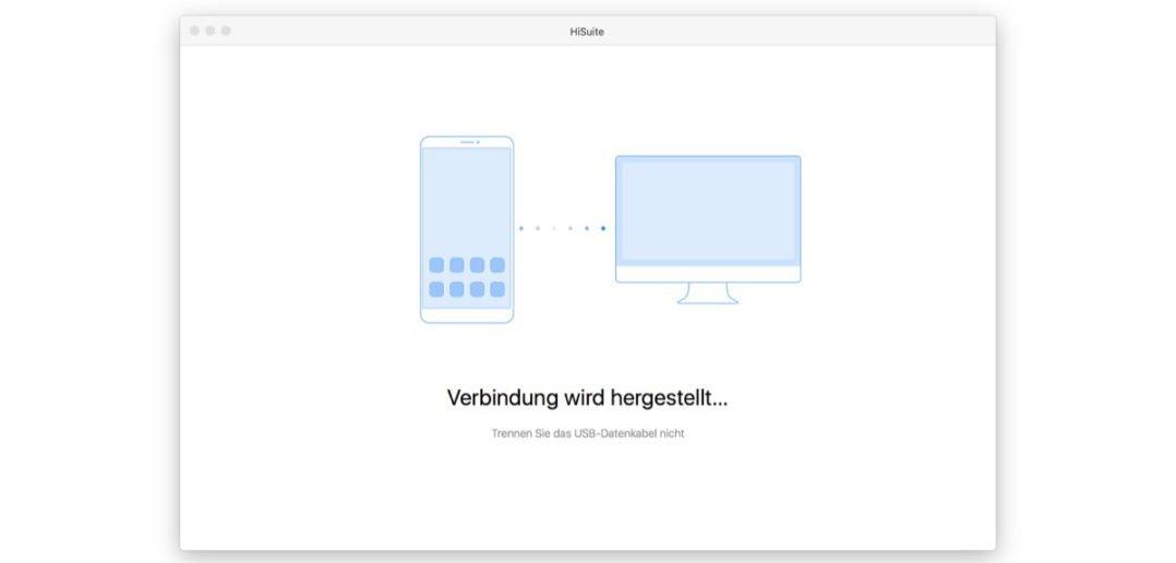 HiSuite für Mac - Titelbild