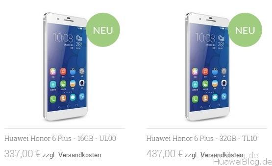 Honor 6 Plus kaufen importieren