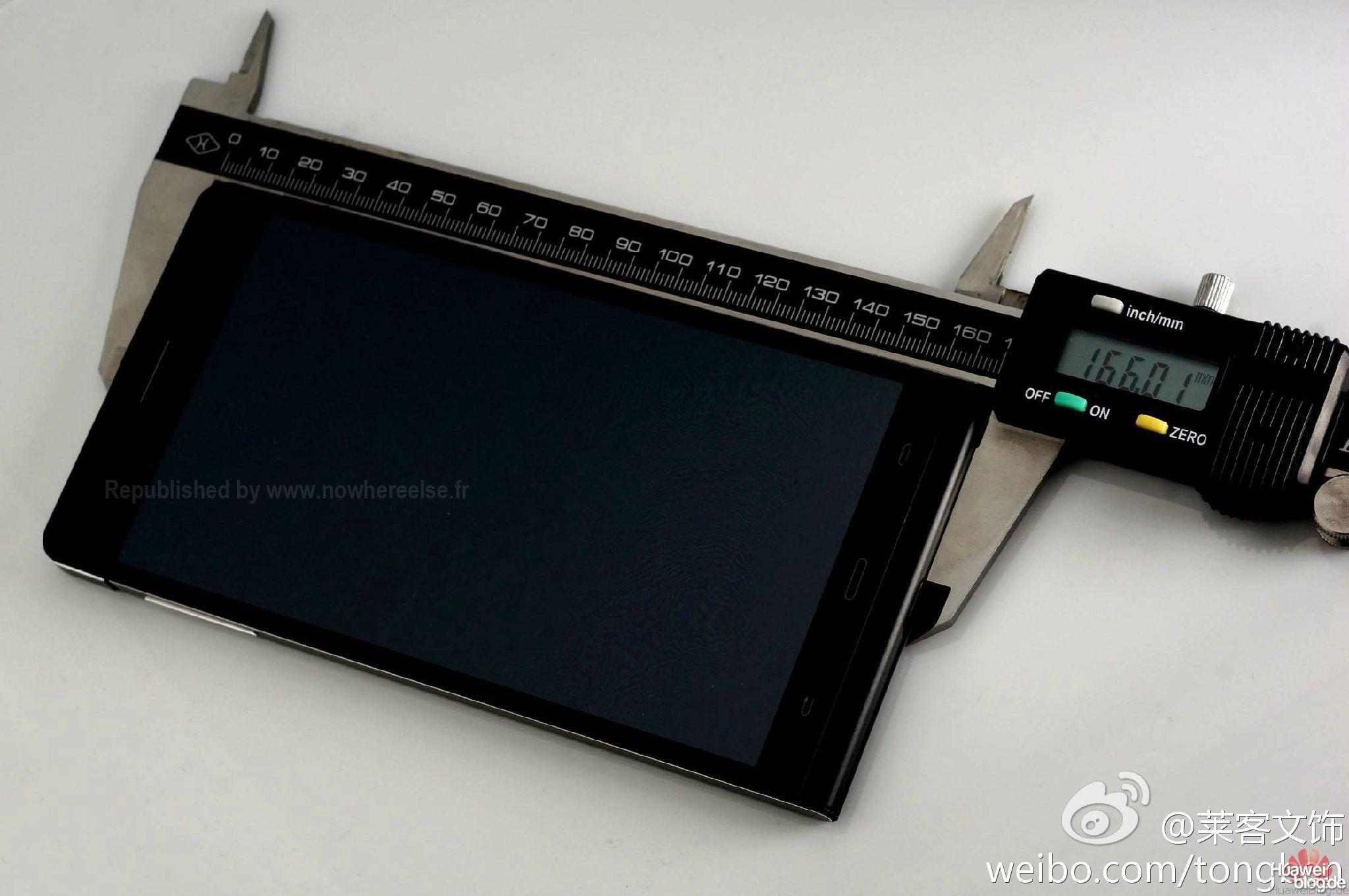 Huawei Ascend P6S Länge