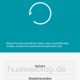 Huawei Backup App Datensicherung