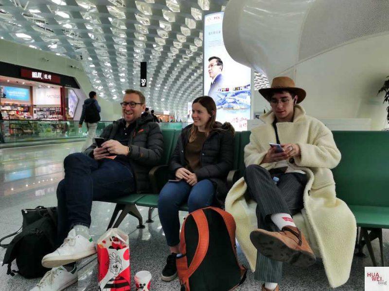 Huawei China Reise_Shenzhen Flughafen