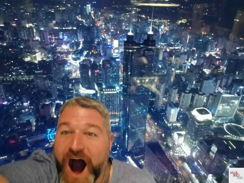 Huawei China Reise_Shenzhen Kingkey100 Selfie