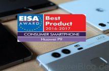 Huawei EISA AWARD P9