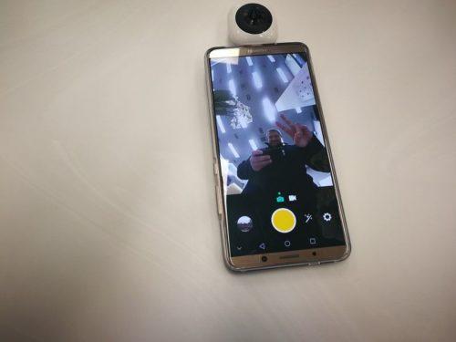 Huawei EnVizion Test 360 Kamera Aufnahme