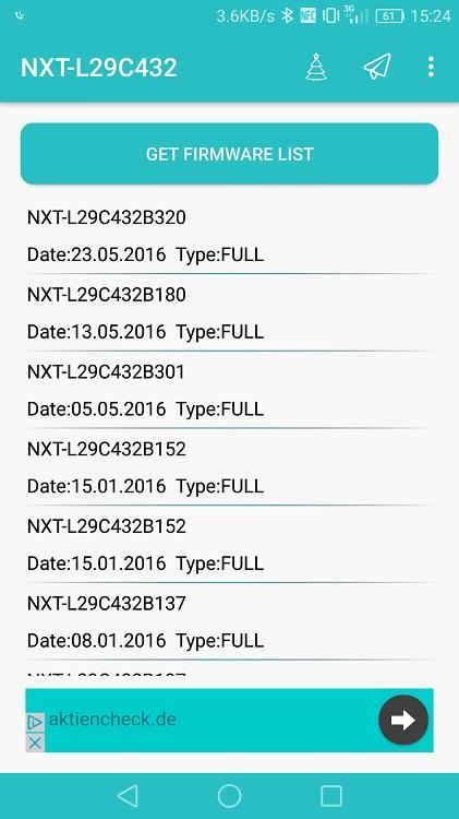 Huawei Firmware Updates Firmware Finder