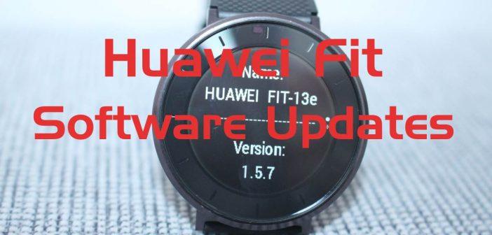 Huawei Fit Updates veröffentlicht