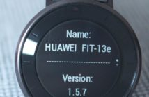 Huawei Fit aktuelle Version