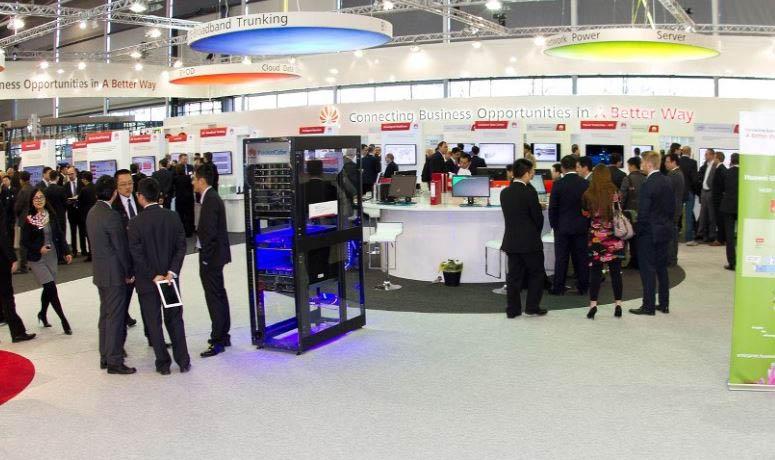 Huawei KunLun 9032 CeBIT Hannover
