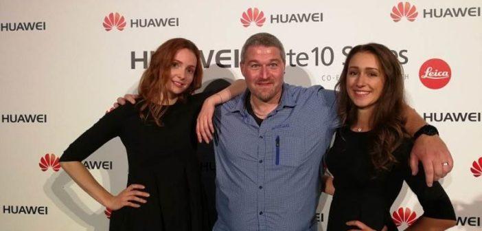 Huawei Mate 10 Launch Selfie